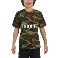 Youth Camouflage T-Shirt Thumbnail